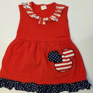 Disney dress american flag Mickey mouse